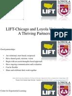 lift chicago and loyola university