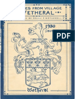 Families of the Village of Wetheral 1950 Document