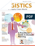 A Shift in Sourcing Strategies--Logistics & Supply Chain World May 2013