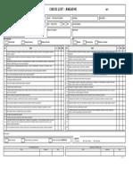 Formulário de Inspeção Em Andaimes - Versão 1.00 12-09-14