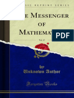The Messenger of Mathematics v17 1000034177