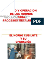 4. Horno Cubilote- Clase 4