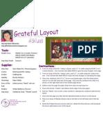 Grateful Layout by Jing-Jing Nickel