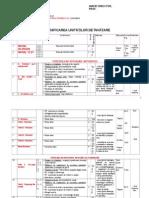 Planificarea unitatilor de invatare Highflyer Upper Intermediate 8th Grade
