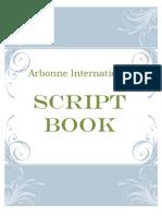 arbonne script book