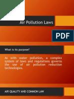 Air Pollution Laws