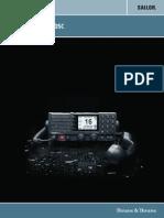 Sailor 6222 VHF DSC Installation Manual
