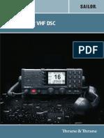 Sailor 6222 VHF DSC User Manual