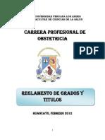 Reglamento de Grados y Titulos (Propuesta a Dra. Melva y Jenny )