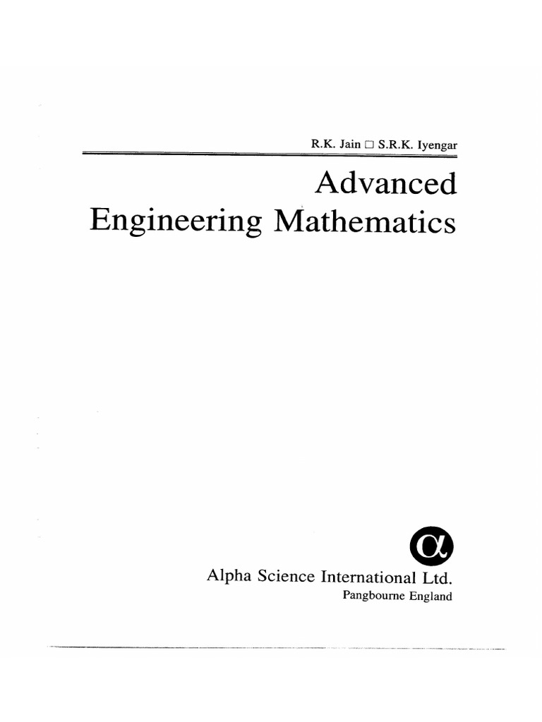 Advanced engineering mathematics rk jain and s r k iyengar index fandeluxe Choice Image