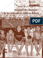 Informe de Coyuntura Nº 2  Indicadores y metas del Milenio en Bolivia