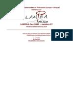 LAMPEA-Doc 2014 – numéro 27 / Vendredi 12 septembre 2014