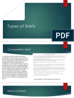 types of briefs