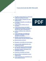 .Vea Los Trucos de Excel de 2007 Microsoft Office System