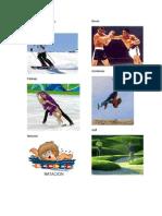 5 Deportes Individuales Colectivos e Internacionales