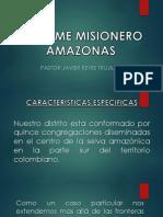 Informe Misionero