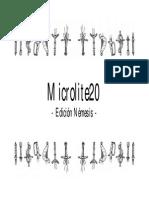 Microlite20 - Edición Némesis - Pantallas Del Máster