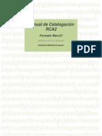 Manual de Catalogacion
