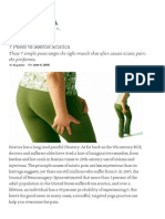 7 Poses to Soothe Sciatica _ Yoga International
