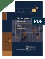 Cultura Política y Filosofía. Cinco Ensayos Monográficos