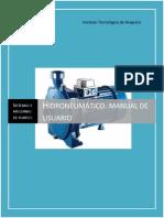 Hidroneumático. Manual de Usuario