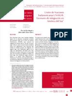 UNASUR. Escenario de Integración en América Del Sur (Óscar Sosa & Mario Huertas)