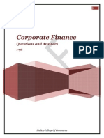 49695220 Corporate Finance 98 Questions