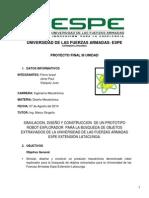Informe Diseño Proyecto Unidad III