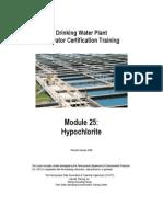 Dw-25 Hypochlorite Wb Jan2006
