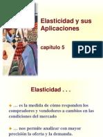 Principios de Economía, Mankiw Capítulo 5; Elasticidad y Sus Aplicaciones