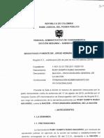 Sentencia Condenada Procuraduria Por Despedir Sindicalista