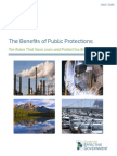 The Benefits of Public Protections