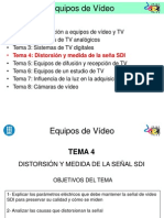 Tema 4 Distorsion y Medida de La Señal SDI