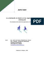 Orientación Al Cliente en Organizaciones de Información