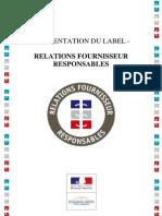 Presentation Label Rfr