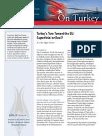 Turkey's Turn Toward the EU