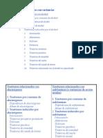 Trastornos Inducidos Por Sustancias - Criterios Del DSM IV