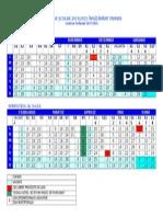 0 Calendar Scolar 20142015