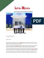 11-09-2014 El Sol de México - Inauguró Rafael Moreno Valle centro de salud en Tochtepec .