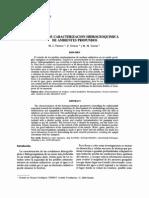Tecnicas de Caracterizacion Hidrogeoquimica