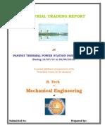 Training Report Rv