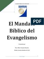 El Mandato Bíblico Del Evangelismo MASTER