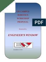 Proposal Workshop- Engineer's Window_Robotics