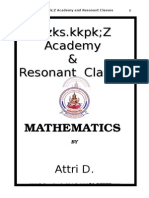 Sets, Relations and Functions (2)