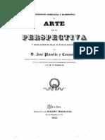 1840 Planella y Coromina. Arte de La Perspectiva