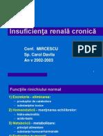 Insuf renala cronica