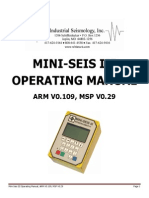 Ms III Operating Manual