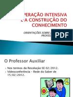 Ppt Professor Auxiliar Ot 16-02-2012