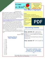 September 12 Newsletter