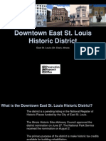 Downtown East St Louis Historic District Presenation